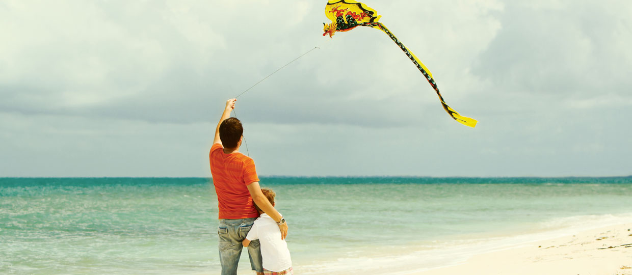 Find time to fly a kite